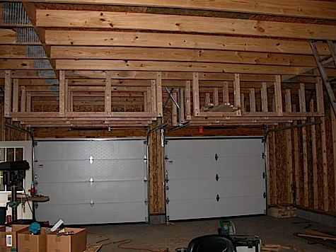 This Is My Lumber Storage Rack Still Have To Do Wiring Insulation And Drywall